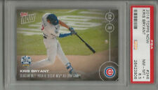 2016 Topps Now Kris Bryant  PSA 8.5 First Pitch He Sees HR - All-Star Game