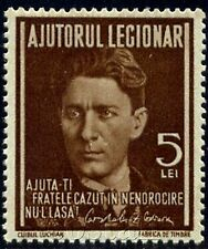 1940 Iron Guard,Legion,Zelea CODREANU,POSTAL TAX,Romania,Brown,Not Issued,MNH