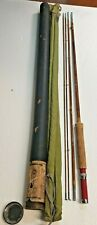 Excellent 8 1/2' Montague Rapidan split bamboo fly rod
