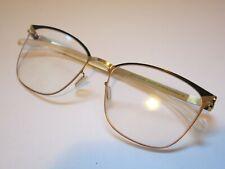 MYKITA Decades MEGHAN 256 Gold Indigo Glasses Eyewear Eyeglass Frame NEW