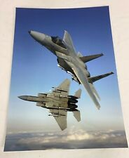 Us Air Force F-15 Eagle Aircraft Large Photo Print
