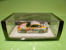 SPARK 1:43 PORSCHE GT3 RALLY MONTE CARLO 2014 - ORIGINAL BOX - IN MINT CONDITION