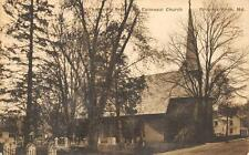 St. Andrew's Protestant Episcopal Church Princess Anne, MD Postcard ca 1910s