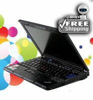 Cheap Laptop IBM Lenovo 1.83Ghz 1GB 160GB WiFi DVD CD-RW Windows 7 Pro & Office