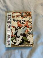 1978 VINTAGE National Football Guide Roger Staubach Dallas Cowboys
