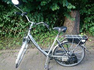 Fahrrad mit Hilfsmotor Saxonette mit Benzinmotor Leichtmofa Vollfunktionstüchtig