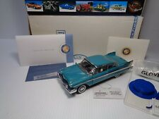 FRANKLIN MINT RARE 1958 PLYMOUTH BELVERDERE CP.L.E. #111 OF 2500 TURQUOISE MINT