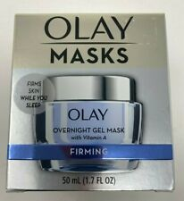 OLAY MASKS - OVERNIGHT GEL MASK WITH VITAMIN 1 - FIRMING - 1.7 FL OZ. - NIB