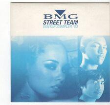 (EZ354) BMG Street Team sampler, 24 tracks various artists - 2003 DJ CD
