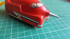 Tri-ang Hornby Battle Space Car Nose Cone in Alumininm.