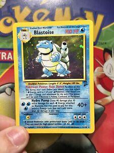 Pokemon -  Blastoise holo - 2/130 Base set 2 exc 5538
