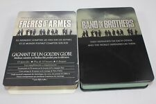 Band of Brothers (DVD, 2002, 6-Disc Set) Metal Tin with French Sleeve