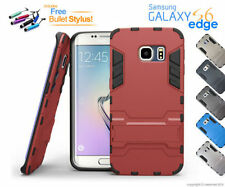 Metallic Mobile Phone Cases, Covers & Skins for Samsung Galaxy S6 edge with Kickstand