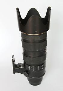 Nikon AF-S NIKKOR 70-200mm f/2.8G ED VR II Lens, zoom, HB-48 lens hood