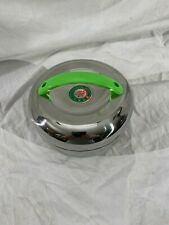 Stainless Steel Double Layers Round Insulated Lunch Box Bento Food Container