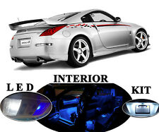 LED Package - Interior + License + Vanity + Reverse for Nissan 350Z  (11 Pcs)