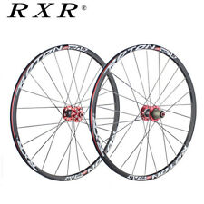 RXR 26/27.5/29 MTB Wheels Cojinetes cubo fibra carbono 25mm Rim Racing Wheelset