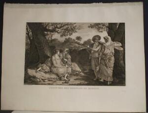 MANILA PHILIPPINES NATIVES 1797 LA PÉROUSE UNUSUAL ANTIQUE COPPER ENGRAVED PLATE