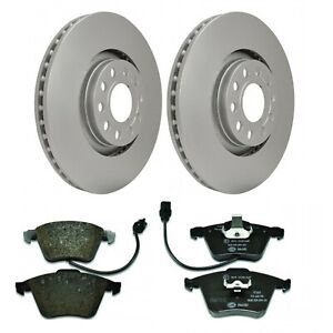 Hella Pagid Front Brake Kit 320mm DPK018 fits Audi A4 8H7, B6, 8HE, B7 3.2 FSI