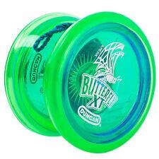 Duncan Farfalla XT Principiante CUSCINETTO YOYO-Verde Blu Shell/TAPPI