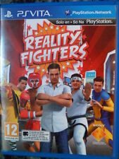 Reality Fighters Lucha parecido a Street Fighters PS Vita Castellano In english.