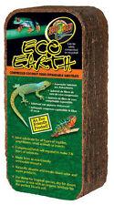 Zoo Med ECO EARTH brick 650g, Coconut fibre block reptile / frog substrate fiber