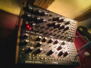 Moog Mother 32 + Two Tier Stand (Semi-modular Eurorack Synthesizer)