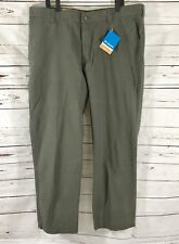 Columbia Roc Pant Mens Casual pants Olive Green Size 42 x 32 NWT $60