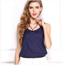 New Women Chiffon Summer Tops Long Sleeve T-Shirt V Neck Loose Casual Blouse