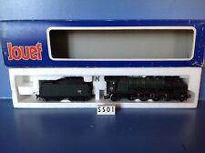 (S501) Loco vapeur 231 K + tender sud est en boite Jouef, ech : Ho