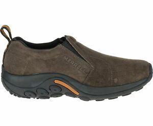 Merrell Men's Jungle Moc Slip-On Shoes, Gunsmoke, Size 12 (J60787)