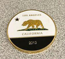 Los Angeles California Bear 2013 Fernet Branca Coin