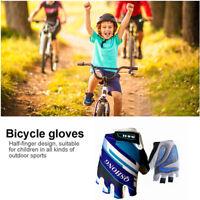 Cycling Bike Gloves Kids Boy Girl Pad Youth Junior Road Mountain Bicycle USA Set