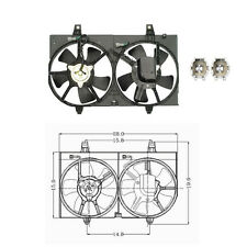 Dual Rad & Cond Fan Assembly Fits: 2000 - 2001 Nissan Maxima All Models