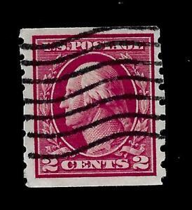 US 1912 SC# 413 2 c Washington  Used - Vivid Color - Centered