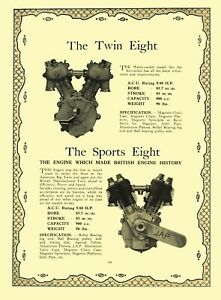 JAP Motorcycle Engines Sales Catalogue 1926 & 1929 one book V Twins and Singles