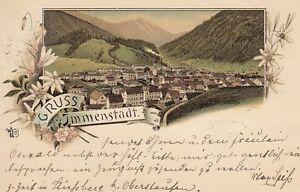 Ansichtskarte Bayern 8970 Gruss aus Immenstadt 1897