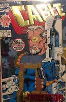 Comic Americano Cable #1  Firmado Por El Artista Art Thibert Portada Holografica