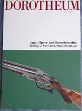 DOROTHEUM: Jagd-,Sport- und Sammlerwaffen 2.3.2013, 414 Lots,Springers Doppelbüc