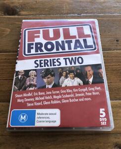 Full Frontal Series Two (DVD, 5-Disc Set) Series 2 *Please Read Description*