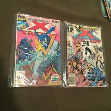 Lot of 2 X-Factor Comic Books Marvel Comics Annual #4 and #39