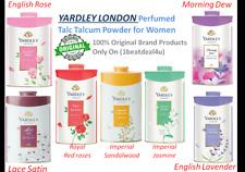 "YARDLEY LONDON ""Perfumed Talc""Talcum Powder ""Women  -7 Variants"" 100g & 250g F.S"