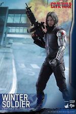 (U) 1/6 Hot Toys Mms351 Marvel Captain America Civil War Winter Soldier Bucky
