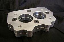 Fits Tri Power Big Rochester Intake Riser Adapter Plate to Small 2G Carburetor