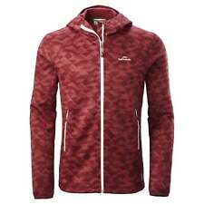 NEW Kathmandu Aysen Mens Wind Resistant Stretch Hooded Fleece Inner Jacket Top