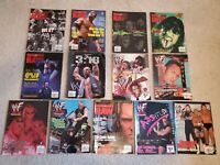 WWF (Raw) Magazine 1999 Mixed Lot of 13 WWE Austin Rock HHH Undertaker