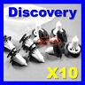 LAND ROVER DISCOVERY REAR BUMPER CORNER BUMPERETTE TRIM CLIPS mk 2 - DYC10031L