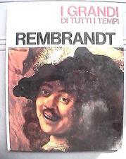 REMBRANDT Mario Lepore Mondadori I grandi di tutti i tempi Biografia Arte Storia