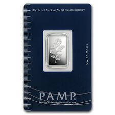 5 gram Silver Bar - PAMP Suisse (Rosa, In Assay) - SKU #76207