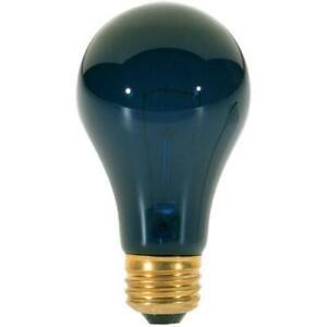 75 watt A19 Incandescent; Black; 480 average rated hours; Medium base; 120 volts